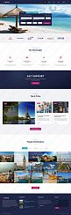Шаблон #61270 - Sky Booking - Travel Online Multipage