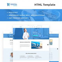 Шаблон #66298 - Dental Clinic Responsive